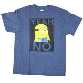 ユニバーサルスタジオジャパン(USJ)のT シャツ MINIONS YEAH NO 【ビッグサイズ】(Tシャツ/カットソー(半袖/袖なし))