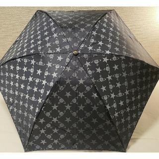 ヴィヴィアンウエストウッド(Vivienne Westwood)のラスト1本最安値🌟スター&ORB ミニ傘折り畳み傘☔ヴィヴィアンウエストウッド(傘)