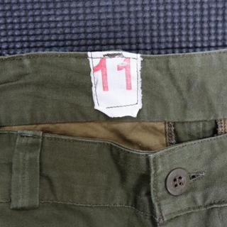 ワンエルディーケーセレクト(1LDK SELECT)の希少 M47 11サイズ デッドストック フランス軍 m-47 パンツ m52(ワークパンツ/カーゴパンツ)