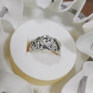 ティファニー(Tiffany & Co.)のTIFFANY ティファニー リング パロマピカソ デザイン トリプル ラビング(リング(指輪))