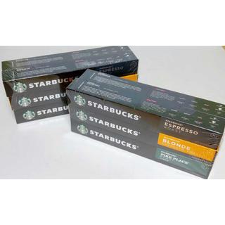 スターバックスコーヒー(Starbucks Coffee)の[送料無料]スターバックスネスプレッソカプセル10P×12セット(その他)