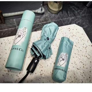 ティファニー(Tiffany & Co.)の未使用 ティファニー  晴雨兼用 折りたたみ傘(傘)