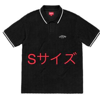 シュプリーム(Supreme)のsupreme Cable Knit Terry Polo Black(ポロシャツ)
