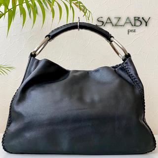 サザビー(SAZABY)の極美品 SAZABY サザビー 約3万 エートート レザートートバッグ (ショルダーバッグ)