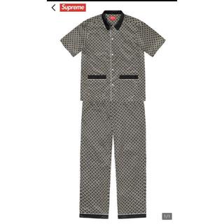 シュプリーム(Supreme)のSatin Pajama Set 希少 M(セットアップ)