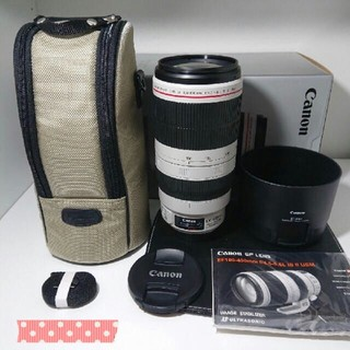 Canon - canon EF100-400mm  F4.5-5.6L IS II USM