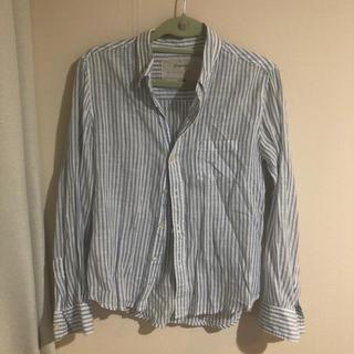 ドロシーズ(DRWCYS)のストライプリネンシャツ(シャツ/ブラウス(長袖/七分))