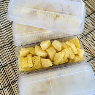 【沖縄県産】冷凍パイナップル ♪ 約6玉分以上入ってます!!(フルーツ)