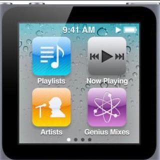 アイポッドタッチ(iPod touch)の Apple iPod nano 8GB グラファイトMC688J/A(ポータブルプレーヤー)