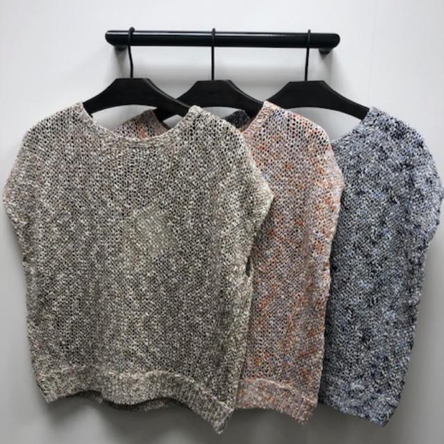theory(セオリー)のセオリー リネン素材ニット レディースのトップス(ニット/セーター)の商品写真