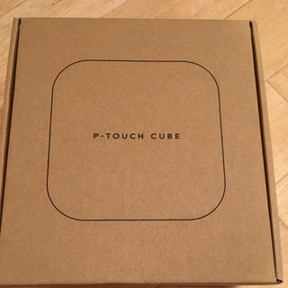 ブラザー(brother)の【新品】P-TOUCH CUBE ピータッチキューブ PT-P710BT(テープ/マスキングテープ)