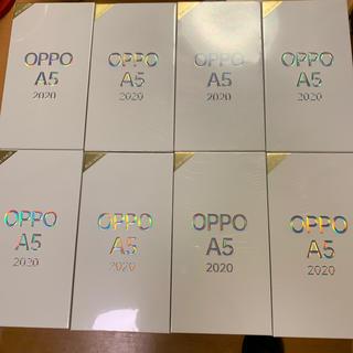 ラクテン(Rakuten)のOPPO A5  2020 計8台 一台あたり16800円(スマートフォン本体)