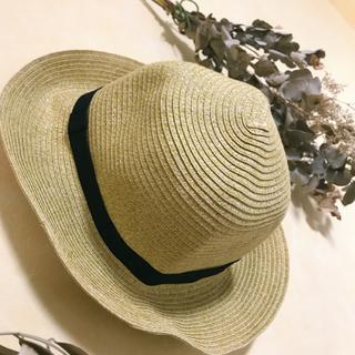ムジルシリョウヒン(MUJI (無印良品))の無印良品 麦わら帽子(麦わら帽子/ストローハット)