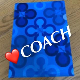 コーチ(COACH)の❤️COACH クリアファイル(クリアファイル)