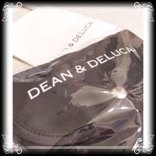 ディーンアンドデルーカ(DEAN & DELUCA)の新品 入手困難 DEAN&DELUCA ショッピングバッグ 黒 エコバッグ (エコバッグ)