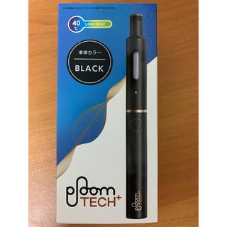 プルームテック(PloomTECH)のPloomTECH+ (電子タバコ たばこ JT ブラック)(タバコグッズ)