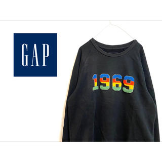 "GAP - 古着 ""GAP"" 1969スウェット"