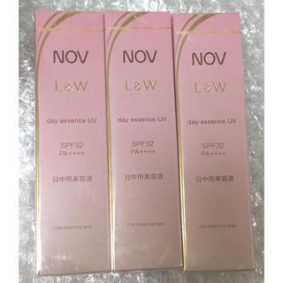 ノブ(NOV)のNOV  L&W デイエッセンス UV ×3(美容液)