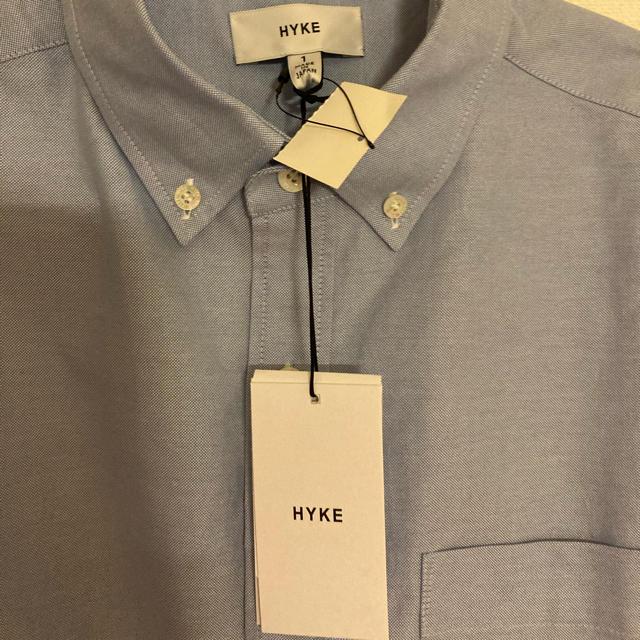 HYKE(ハイク)の新品未使用 HYKE シアー スリーブ シャツ レディースのトップス(シャツ/ブラウス(長袖/七分))の商品写真