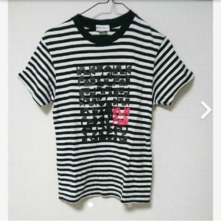 ミルクフェド(MILKFED.)の新品同様 MILKFED ボーダーTシャツ(Tシャツ(半袖/袖なし))