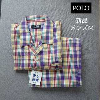ポロラルフローレン(POLO RALPH LAUREN)の新品・タグ付き✩POLO メンズ パジャマ 半袖(その他)