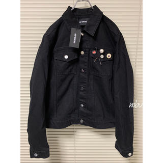 RAF SIMONS - 新品 SS20【 RAF SIMONS 】BLACK DENIM JACKET