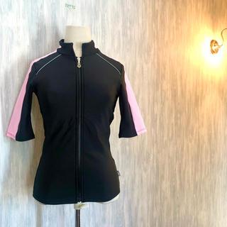 スピード(SPEEDO)の美品 speedo スピード フィットネス用 水着/スイムウェア 半袖 (水着)
