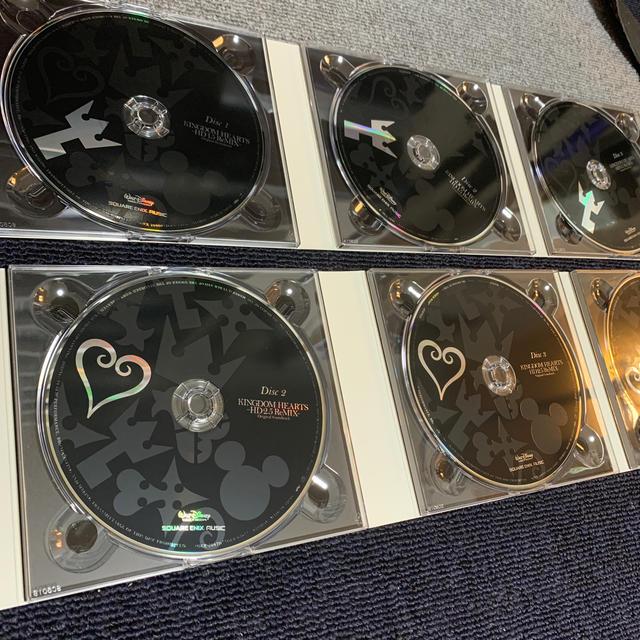 SQUARE ENIX(スクウェアエニックス)のKINGDOM HEARTS -HD 1.5 & 2.5 ReMIX- Orig エンタメ/ホビーのCD(ゲーム音楽)の商品写真