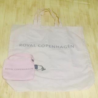 ロイヤルコペンハーゲン(ROYAL COPENHAGEN)のROYAL COPENHAGEN 折りたたみ エコバッグ(エコバッグ)