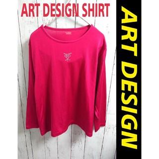 アートコレクション(Art Collection)のART DESIGN ロンT ロングスリーブシャツ ワンポイントロゴ(Tシャツ(長袖/七分))