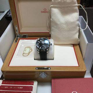 オメガ(OMEGA)のオメガ シーマスター アクアテラ  コーアクシャル マスタークロノメーター極美品(腕時計(アナログ))