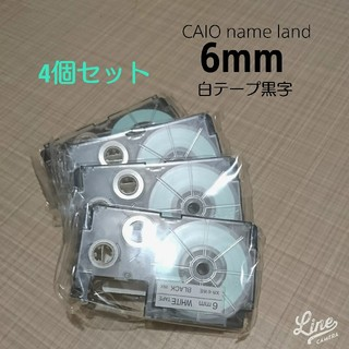 CASIO - CASIO NAME LAND 6mm テープ替え
