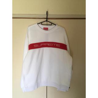 シュプリーム(Supreme)のsupreme polartec crewneck white XL(ニット/セーター)