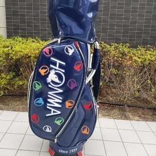 ホンマゴルフ(本間ゴルフ)の【美品】HONMA キャディバッグ 限定品(バッグ)