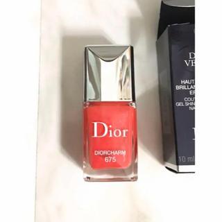 ディオール(Dior)の【限定色】ディオール (ネイル用品)
