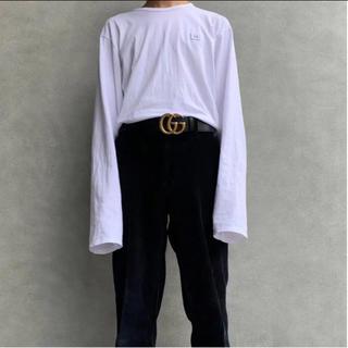 アクネ(ACNE)のacne studios ロングスリーブTシャツ(Tシャツ/カットソー(七分/長袖))