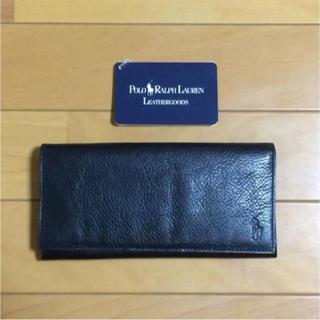 ポロラルフローレン(POLO RALPH LAUREN)のラルフローレン 長財布 ブラック(長財布)
