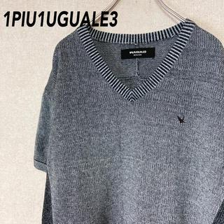 ウノピゥウノウグァーレトレ(1piu1uguale3)のウノピュウノウグァーレトレ 半袖 Tシャツ 古着 セーター メンズ(Tシャツ/カットソー(半袖/袖なし))