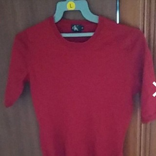 カルバンクライン(Calvin Klein)の最安値!早いもの勝ちカルバン・クライン半袖(Tシャツ(半袖/袖なし))