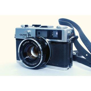 オリンパス(OLYMPUS)のオリンパス OLYMPUS 35DC ジャンク #494(フィルムカメラ)