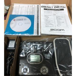 ズーム(Zoom)のzoom G2.1Nu ギターマルチエフェクター(エフェクター)