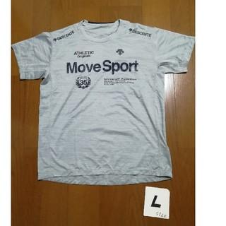 DESCENTE - 20春夏モデル‼️DESCENTE Move Sport ロゴT グレーL未使用
