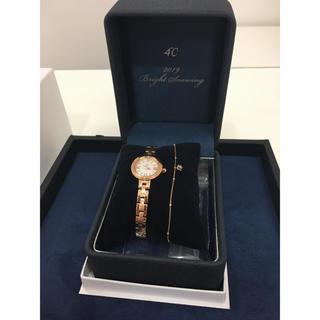 4℃ - 4°Cレディース腕時計、クリスマス限定品 腕時計美品