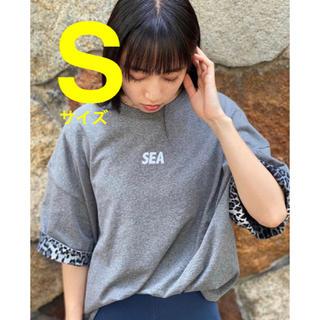 シー(SEA)のSサイズ【新品】WDS RIVERSIBLE CUT-SEWN カットソー(カットソー(半袖/袖なし))
