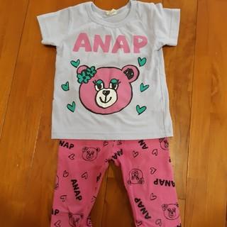 アナップキッズ(ANAP Kids)のANAP セットアップ(Tシャツ/カットソー)