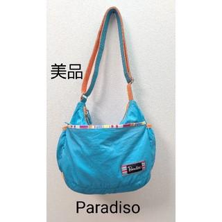 パラディーゾ(Paradiso)のParadiso  水色  バッグ  ショルダーバッグ(ショルダーバッグ)