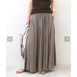 DEUXIEME CLASSE - 定価4.3万 Deuxieme Classe J-LINEN ロングスカート