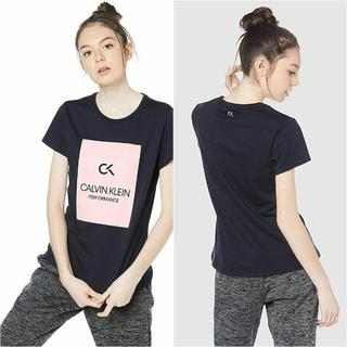 カルバンクライン(Calvin Klein)の【新品】CALVIN KLEIN ビルボード ロゴ T シャツ S ブラック(Tシャツ(半袖/袖なし))