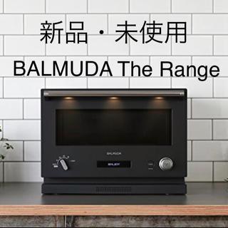 バルミューダ(BALMUDA)の新品未使用 バルミューダ  ザ レンジ ブラック オーブンレンジ(電子レンジ)