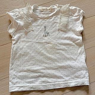 ナルミヤ インターナショナル(NARUMIYA INTERNATIONAL)の半袖 白いTシャツ☆ナルミヤ 80cm(Tシャツ)